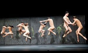 Mark Wallinger's ballet collaboration with Wayne McGregor, Undance