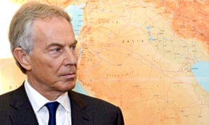 Tony Blair in Tel Aviv, Israel, June 2014