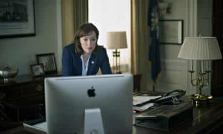 House of Cards … littered with Apple products.