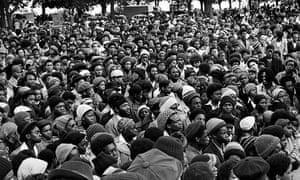 Vanley Burke: African Liberation Day in Handsworth Park, Birmingham, 1977