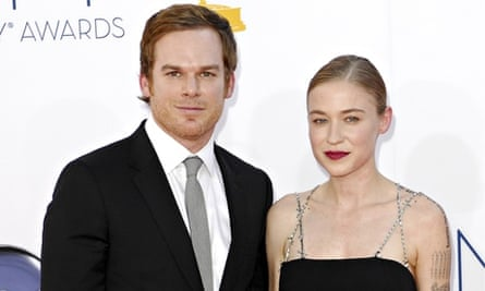 Michael C Hall and partner