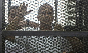 Peter Greste: don't abandon me and other jailed al-Jazeera journalists