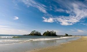 Chesterman Beach near Tofino, Vancouver Island, British Columbia, Canada