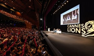 A seminar at Cannes Lions 2014