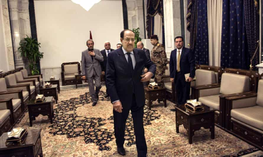 Iraqi Prime Minister Nouri al-Maliki has rejected US calls for an emergency government as a coup against the Iraqi constitution.