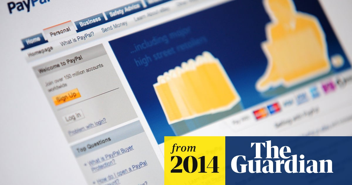 Paypal Security Protection Is Shoddy Say Researchers Technology The Guardian