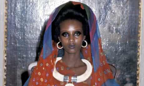 Iman in 1975