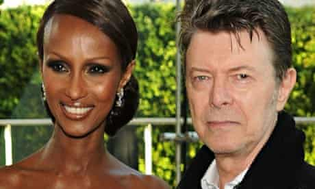 Iman and David Bowie, 2010