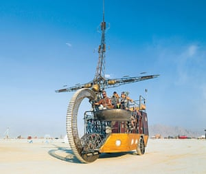Big picture: C.S. Tere's The Lost Machine from 2013 was a pirate ship mutant vehicle tha