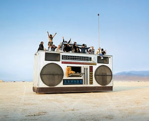 Big picture: The Rock Box by Derek Wunder, was the portable party of choice in 2008