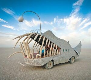 Big picture: Mark whitMan, The Anglerfish, 2010. Steel, mesh, plaster
