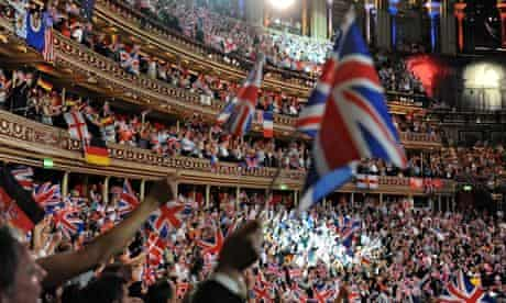 The Last Night Of The Proms at the Royal Albert Hall.