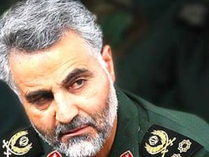 Qassem Soleimani head of the al-Quds brigade.