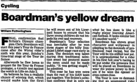 Guardian - Tour de France 1994