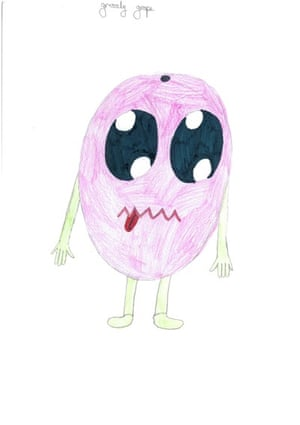 Monster drawing entries: By Keira, aged 10