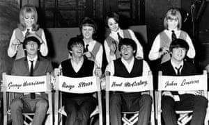 Patti Boyd, Tina Williams, Pru Bury, Susan Whitman, The Beatles, A Hard Day's Night.