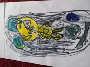 Monster drawing entries: By Luke, aged 4
