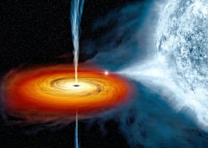 A stellar-mass black hole