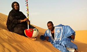 Noura Mint Seymali and Jeiche Ould Chighaly
