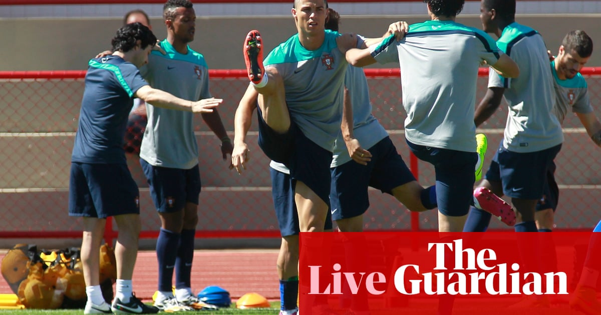World Cup 2014  Luis Suárez banned for four months over  bite  – as it  happened  fba1a7283