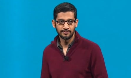 Google's Sundar Pichai led its I/O conference keynote.