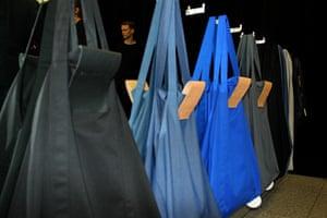 A Shanghai-inspired bag at Ania Kuczynska.