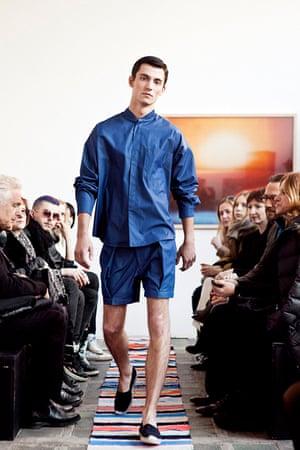 Menswear at Ania Kuczynska.