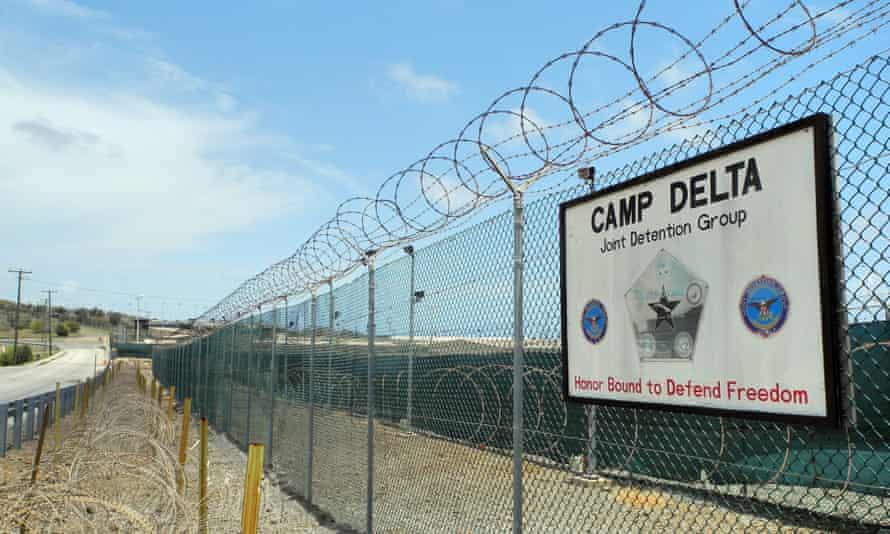 Camp Delta at the US Naval Base in Guantanamo Bay, Cuba