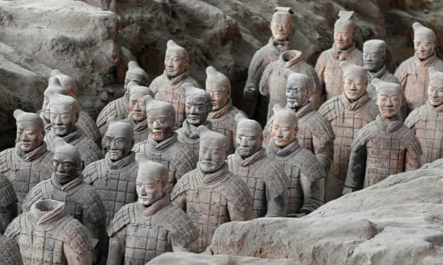 The Terracotta Warriors in Xi'an, Shaanxi province – one of the tourist attractions where Chinese authorities have taken dissidents to keep them out of the way.