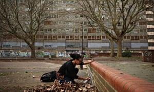 Flats Lie Empty On The Derelict Heygate Estate