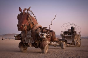 Big Picture: Burning Man Art Cars