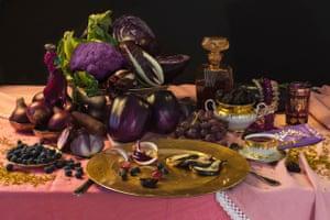 Mariah Carey's purple diet