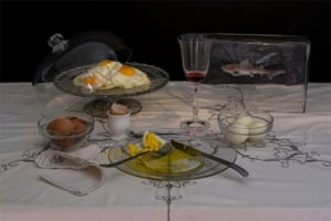 Charles Saatchi's nine-eggs-a-day diet