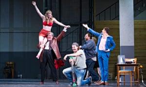 Ariadne comedy troupe jane archibald