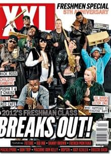 The April 2012 XXL cover featuring Azalea.