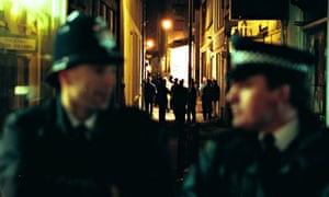 Drugs raid in London