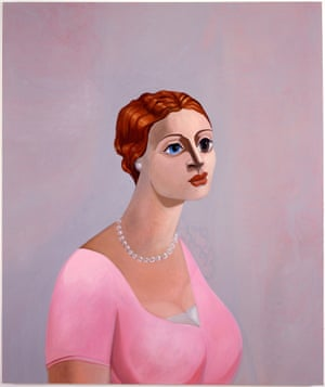 Portrait of a Woman, 2002, by George Condo.
