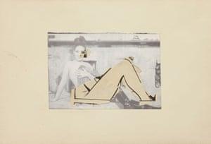 Untitled, 1977, by John Stezaker.