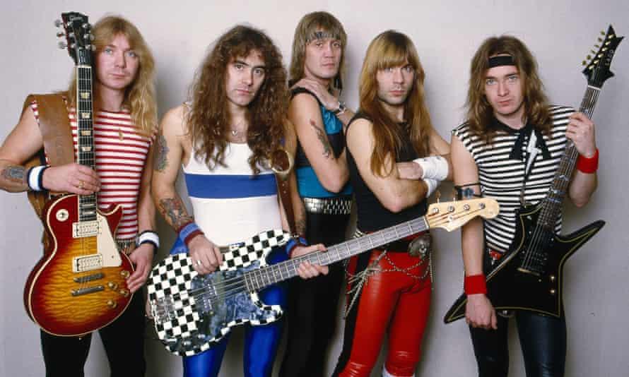 Iron Maiden in 1988