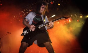 ANTHRAX PERFORMING AT THE HAMMERSMITH ODEON, LONDON - 1986