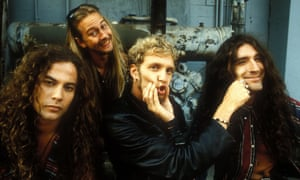 Mike Starr, Jerry Cantrell, Layne Staley and Shawn Kinney of Alice In Chains