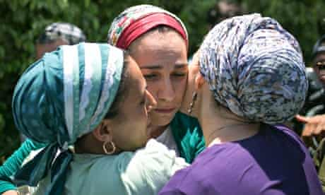 Mothers of kidnapped teenagers
