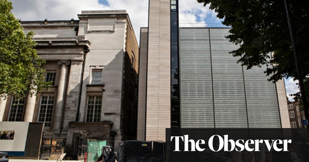 British Museum extension: 'It does its job but could have been