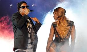 Jay Z and Beyonce: winning formula.