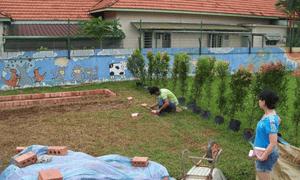 Intel garden project in Singapore