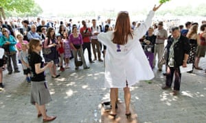 Soapbox Science on the South Bank