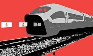 Joe_Magee illustration for Simon Jenkins piece on the folly of HS3