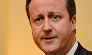 Cameron's xmas message