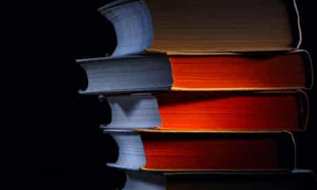 Books in shadow