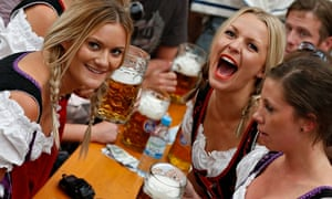 Bavarian Oktoberfest in Munich